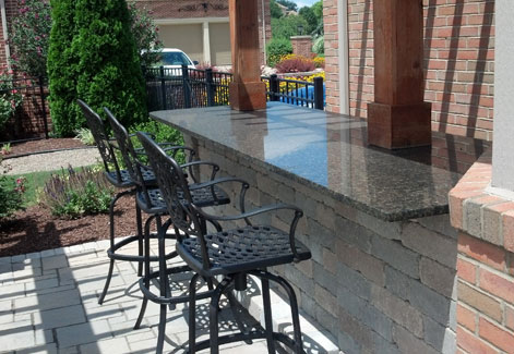 Patio Countertop Ohio