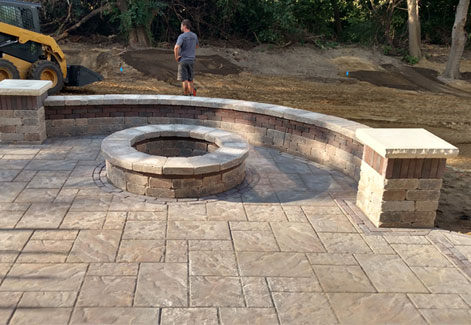 Fire Pit Patio Pavers Ohio
